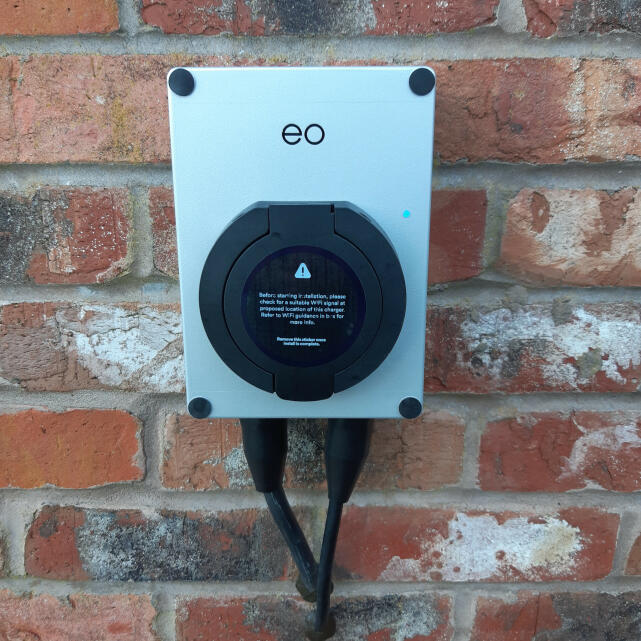 EO Charging 5 star review on 26th February 2021