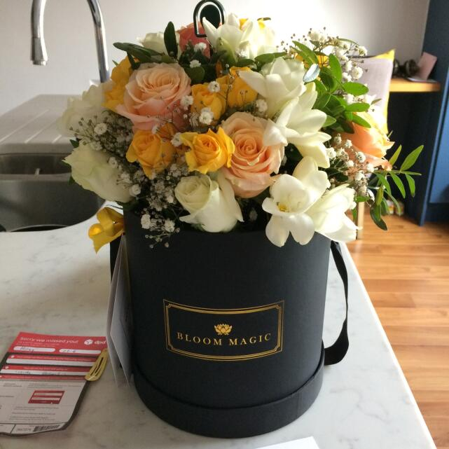 Bloom Magic Flower Delivery 5 star review on 30th June 2019