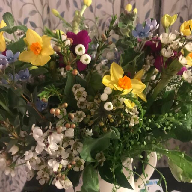 The Real Flower Company 5 star review on 16th March 2021