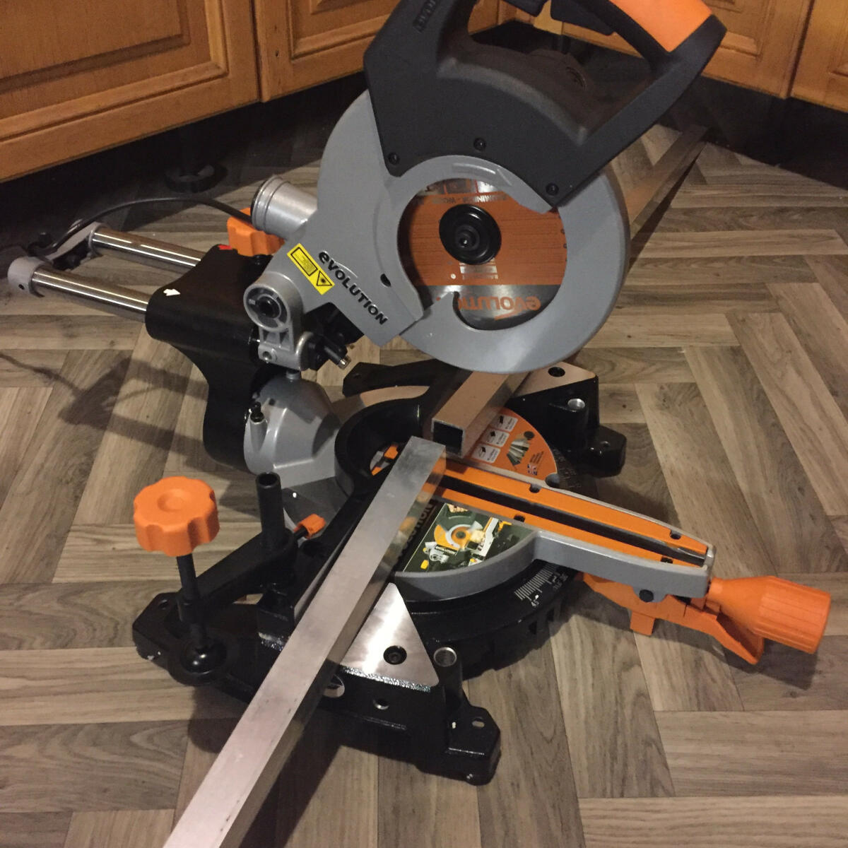 Evolution Power Tools 5 star review on 27th January 2019