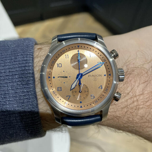 Pinion Watches 5 star review on 9th March 2021