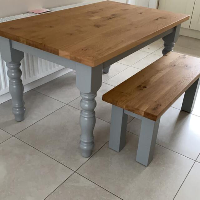 Farmhouse Table Company 5 star review on 9th March 2021