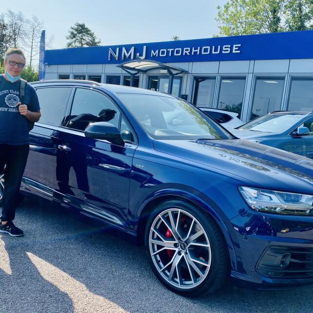 NMJ Motorhouse 5 star review on 22nd September 2020