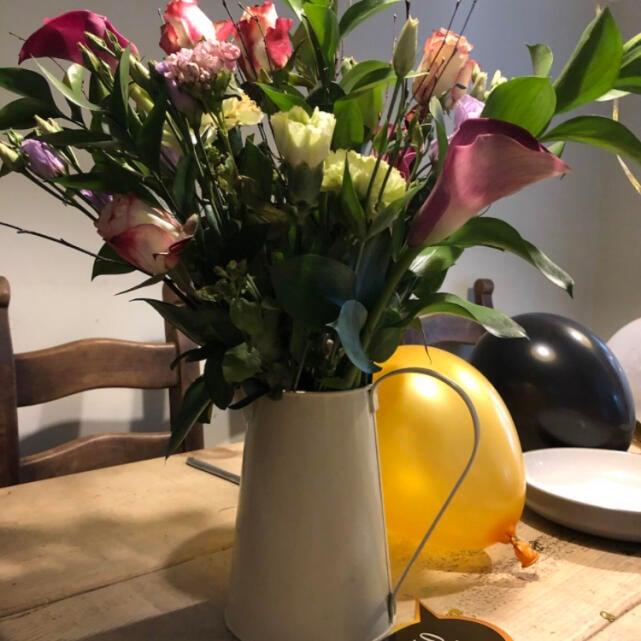 Haute Florist 5 star review on 8th April 2021