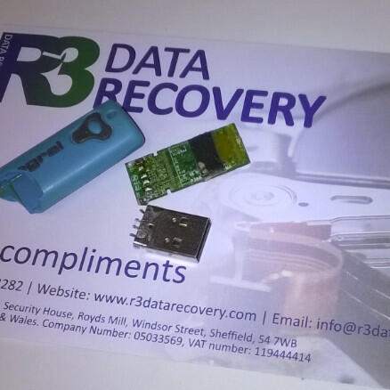 R3 Data Recovery Ltd 5 star review on 7th March 2018