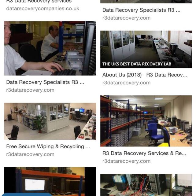 R3 Data Recovery Ltd 5 star review on 23rd October 2018