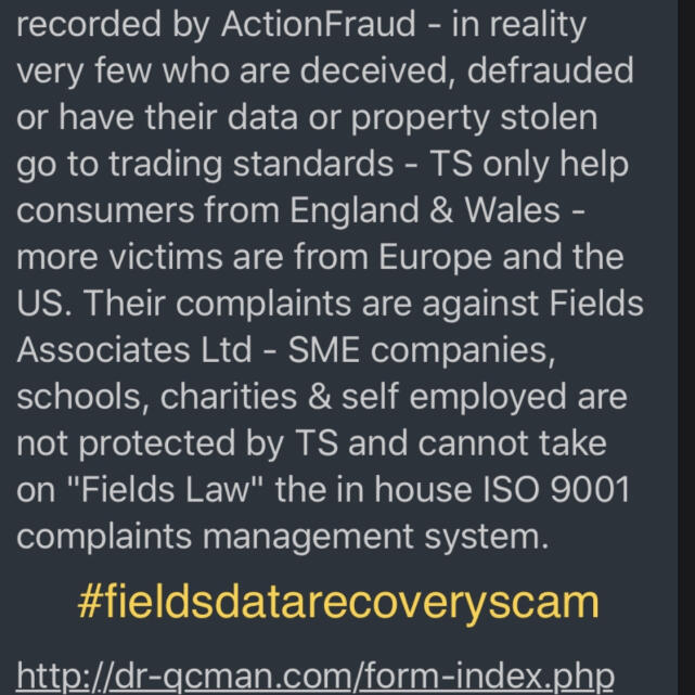 R3 Data Recovery Ltd 5 star review on 20th January 2021