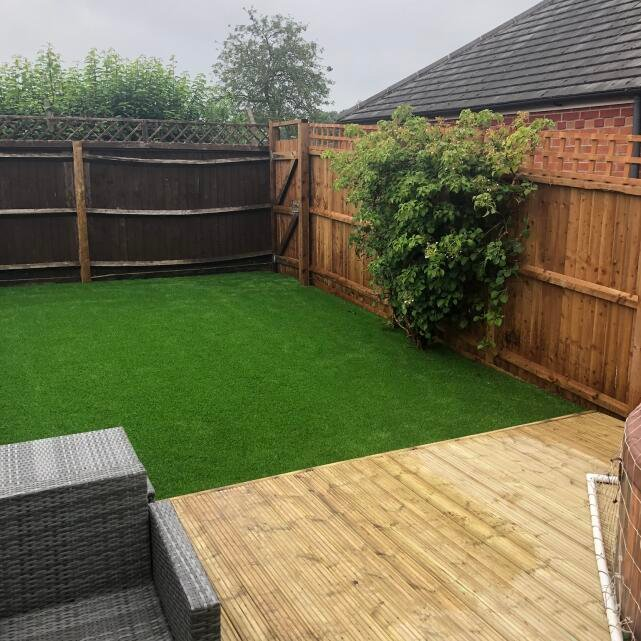 LazyLawn 5 star review on 18th August 2020