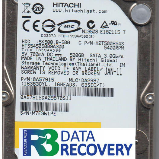 R3 Data Recovery  4 star review on 27th September 2016