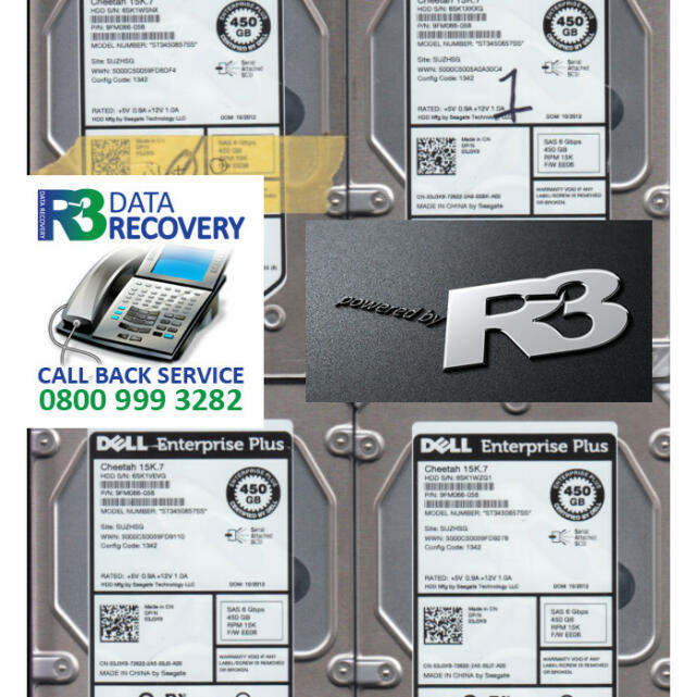 R3 Data Recovery 5 star review on 1st July 2021