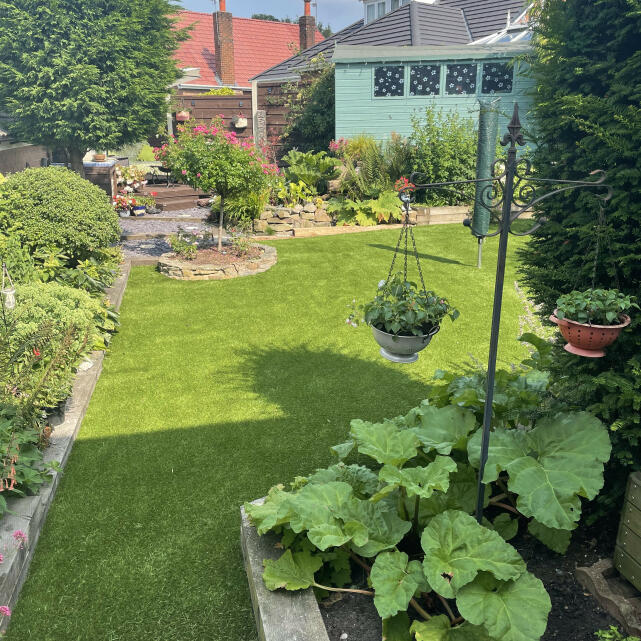 Great Grass 5 star review on 26th July 2021