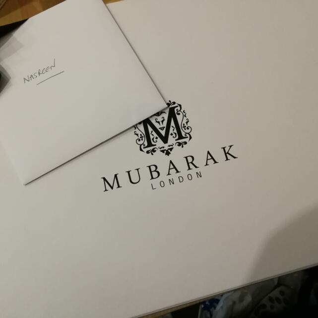 Mubarak London Limited 5 star review on 22nd July 2018