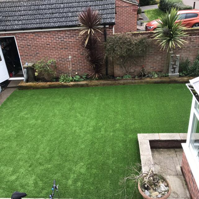 LazyLawn 5 star review on 26th March 2020