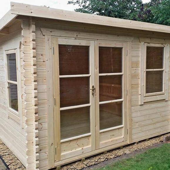 1 Click Log Cabins 5 star review on 30th November 2018