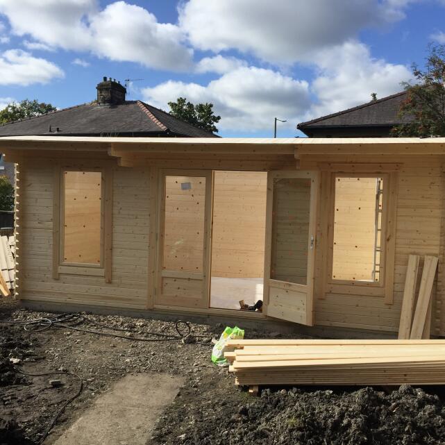 1 Click Log Cabins 5 star review on 26th November 2019