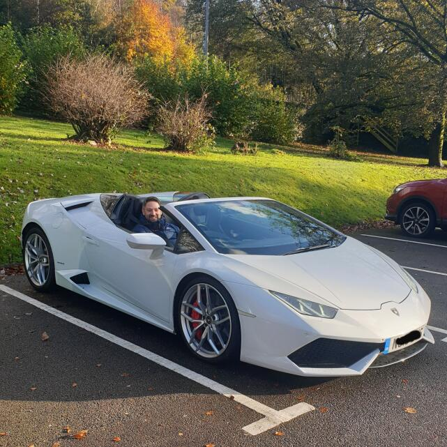Supercar Experiences Ltd 5 star review on 30th October 2019