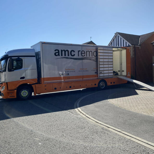 AMC Removals 5 star review on 16th April 2021