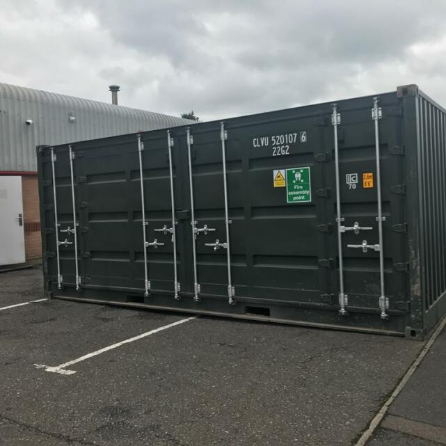 Cleveland Containers 3 star review on 19th June 2019