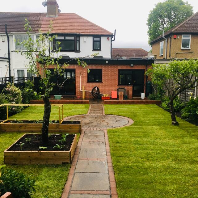 London Lawn Turf Company 5 star review on 21st May 2019