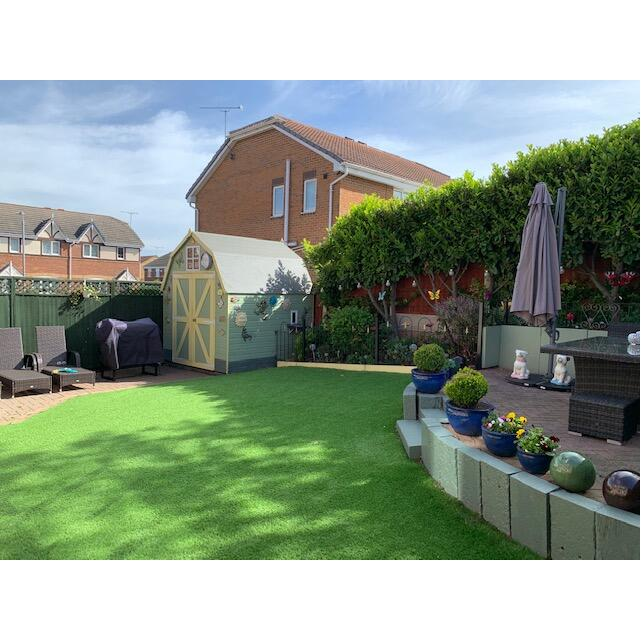 LazyLawn 5 star review on 18th May 2020
