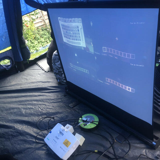Pop Up Arcade 5 star review on 16th September 2020