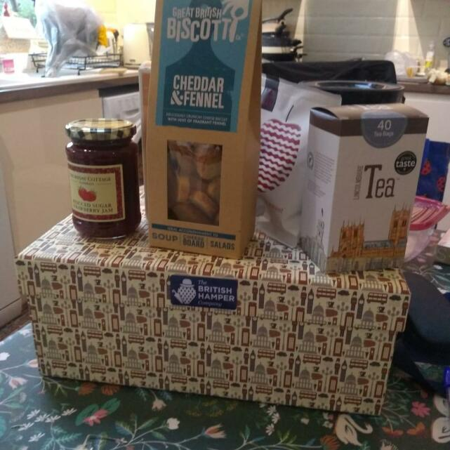 The British Hamper Company 5 star review on 17th August 2021