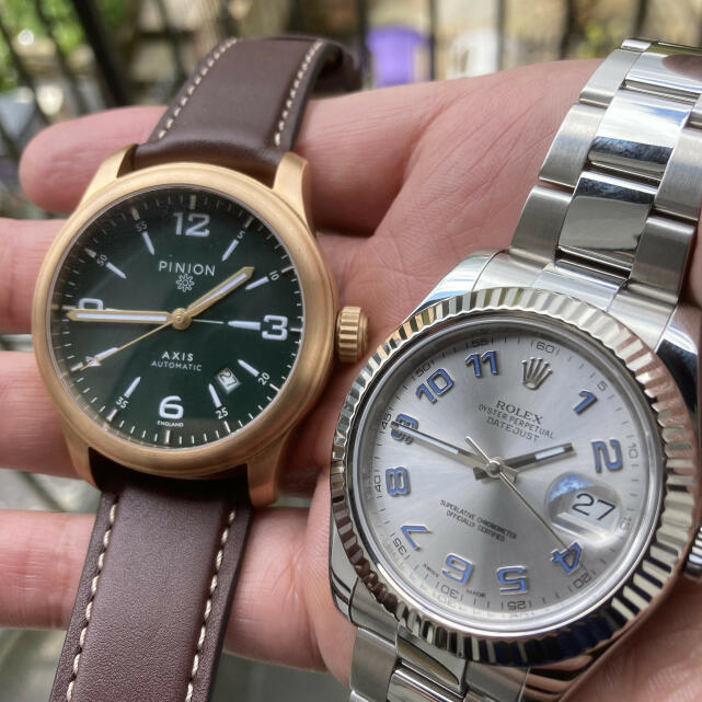 Pinion Watches 5 star review on 1st July 2021