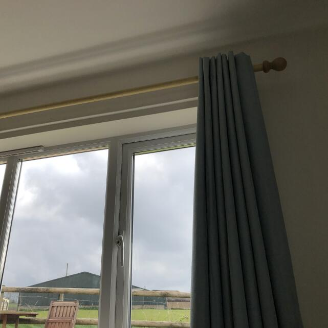 Curtain Pole Store 5 star review on 10th April 2021