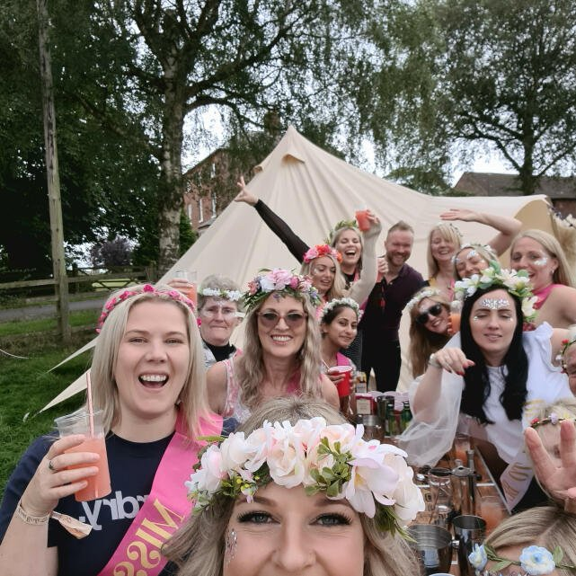 Tipsy Parties 5 star review on 6th September 2021