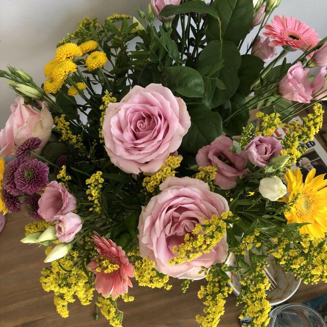 Verdure Floral Design Ltd 5 star review on 17th March 2021