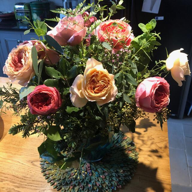 The Real Flower Company 5 star review on 30th November 2020