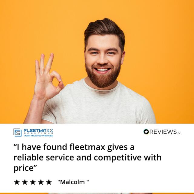 Fleetmaxx Solutions 5 star review on 6th October 2020