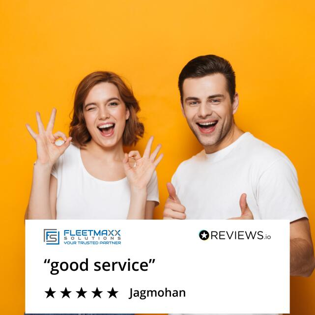 Fleetmaxx Solutions 5 star review on 10th October 2020