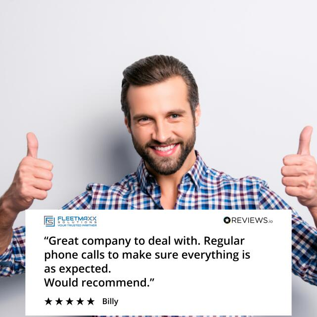 Fleetmaxx Solutions 5 star review on 9th July 2021