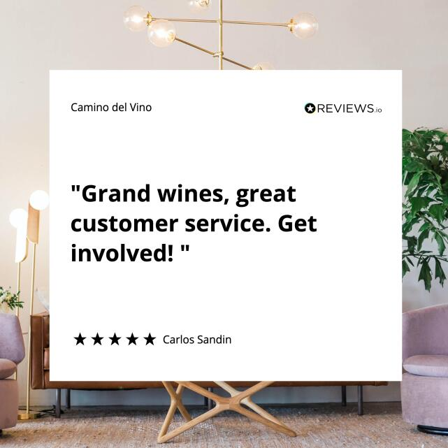 Camino del Vino 5 star review on 18th January 2021