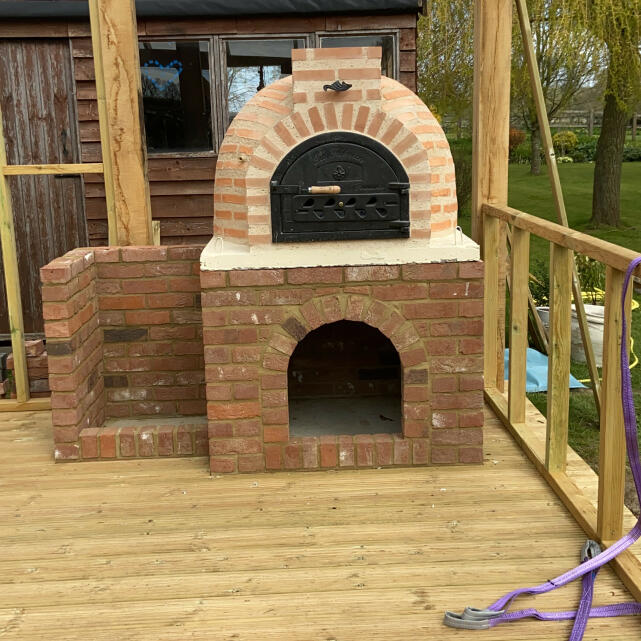 Fuego Wood Fired Ovens 5 star review on 17th April 2021
