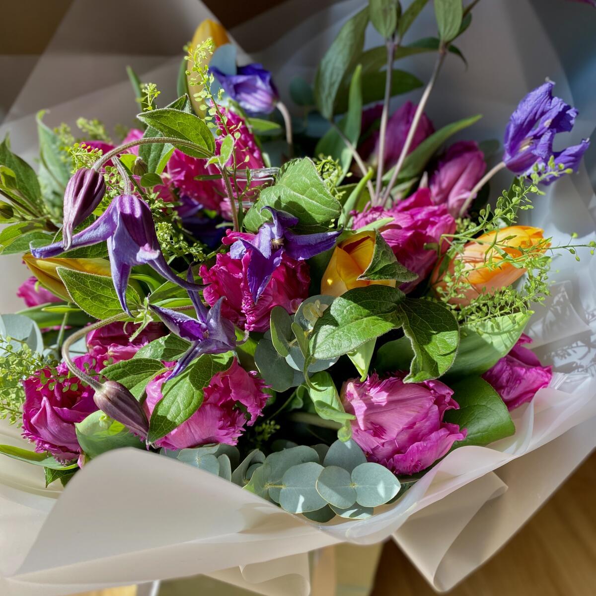 Verdure Floral Design Ltd 5 star review on 20th April 2020