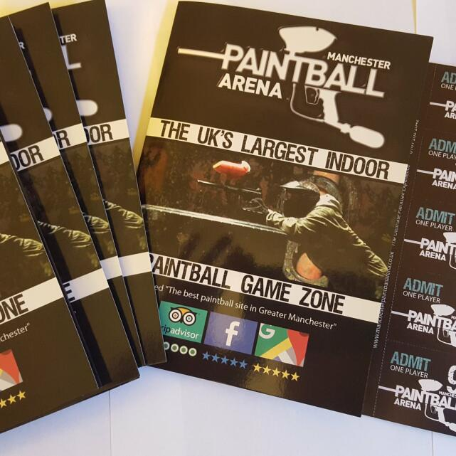 Manchester Paintball Arena 5 star review on 7th May 2019