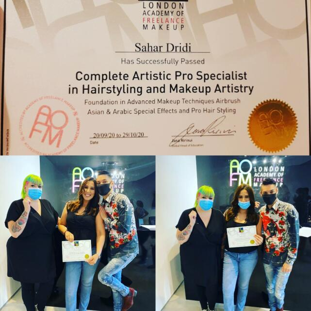 Academy Of Freelance Makeup 5 star review on 3rd December 2020