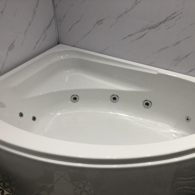 The Whirlpool Bath Shop 5 star review on 26th April 2021