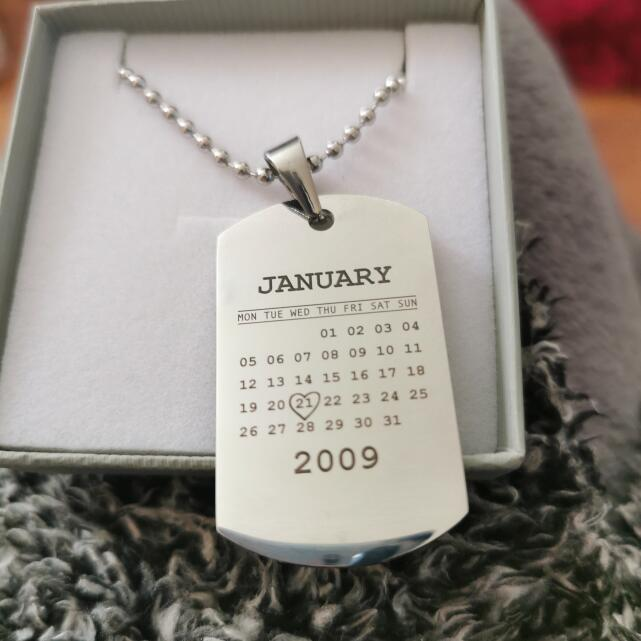 Personalised Jewellery 5 star review on 24th December 2020