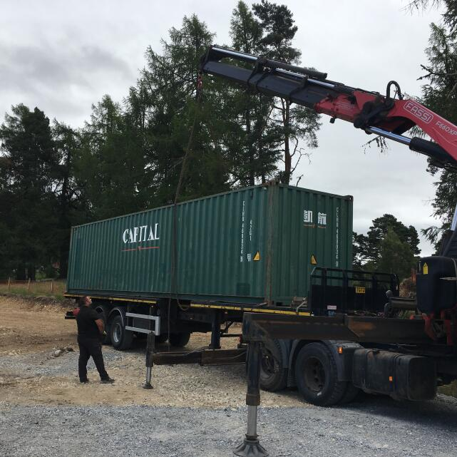 ContainerContainer / Parsons Containers Ltd 5 star review on 4th August 2018