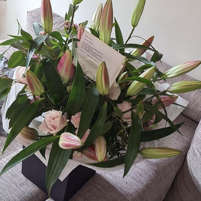 Verdure Floral Design Ltd 4 star review on 22nd March 2021