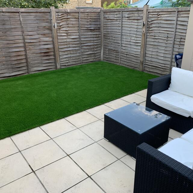 LazyLawn 5 star review on 13th July 2020