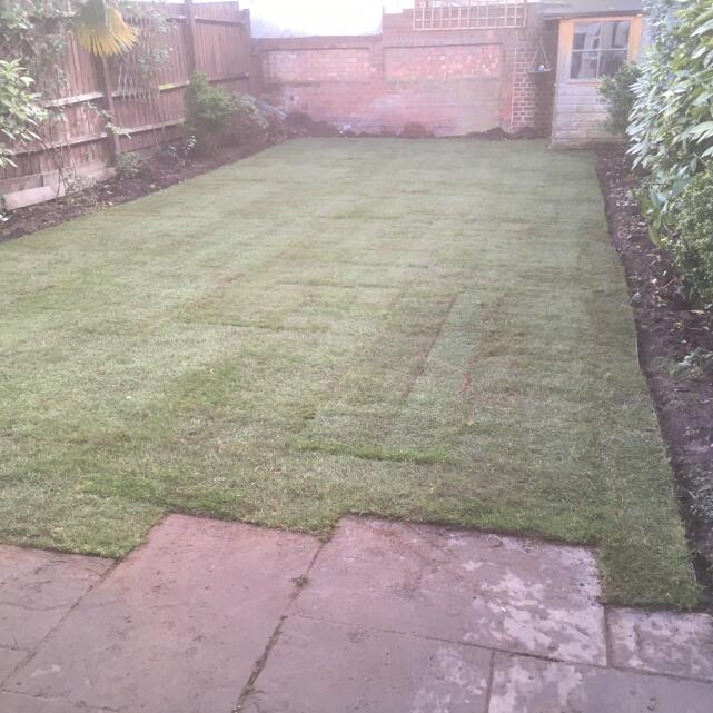 London Lawn Turf Company 4 star review on 6th November 2019