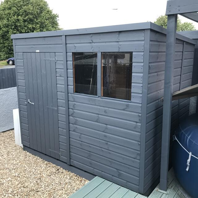 Sheds 2 go  5 star review on 26th July 2020