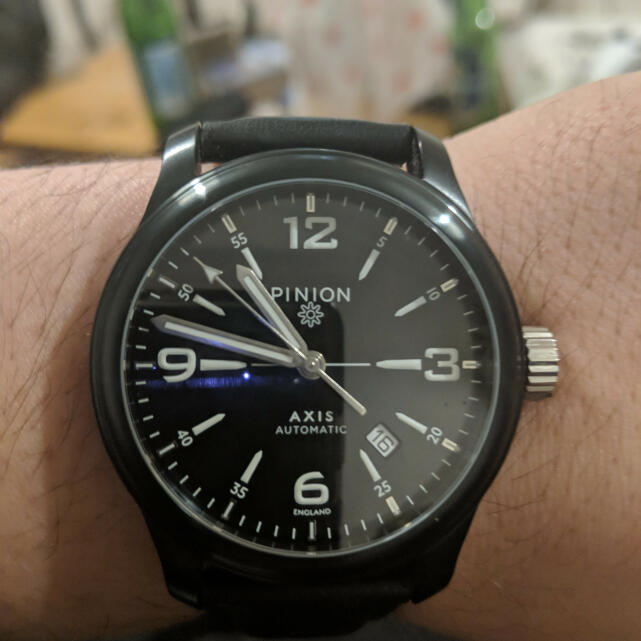 Pinion Watches 5 star review on 16th November 2018