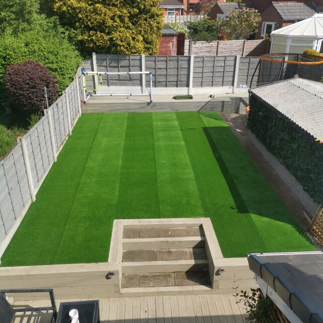 LazyLawn 5 star review on 10th May 2020