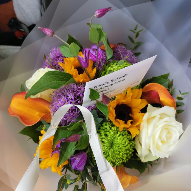 Verdure Floral Design Ltd 5 star review on 26th May 2020