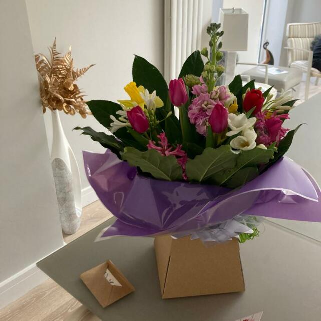 The Flower Emporium Heaton Moor 5 star review on 7th March 2021